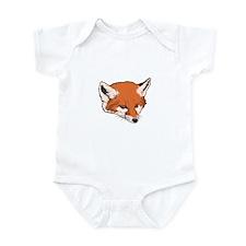 Baby Fox Head Infant Bodysuit
