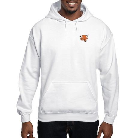 Baby Fox Head Hooded Sweatshirt