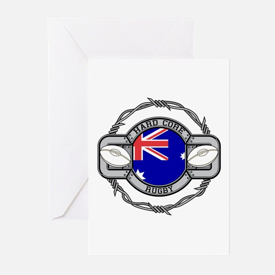 Australia Rugby Greeting Cards (Pk of 10)