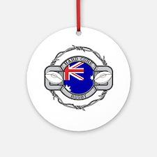 Australia Rugby Ornament (Round)