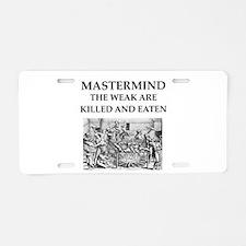 mastermind Aluminum License Plate