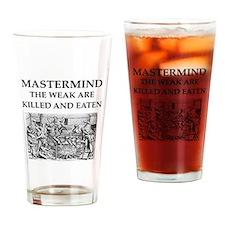 mastermind Drinking Glass