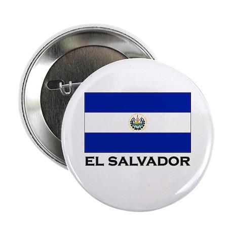 El Salvador Flag Merchandise Button