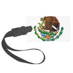 Mexico Coat Of Arms Large Luggage Tag