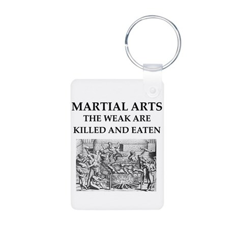 MARTIA; arts Aluminum Photo Keychain
