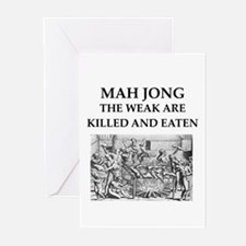 mah jong Greeting Cards (Pk of 20)