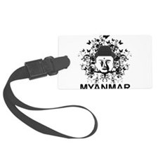 Buddha Myanmar Luggage Tag