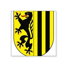 Dresden Coat of Arms Rectangle Sticker