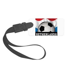 Football Netherlands Luggage Tag