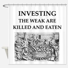 investing Shower Curtain