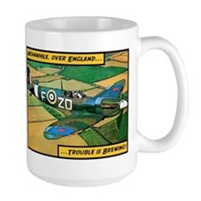 Spitfire - Trouble Brewing! Coffee Mug