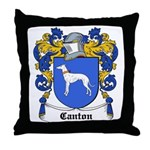 Canton Coat of Arms Throw Pillow