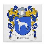 Canton Coat of Arms Tile Coaster