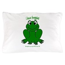 FROGGIE Pillow Case