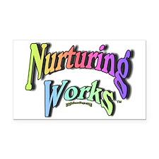 Nurturing Works Rectangle Car Magnet