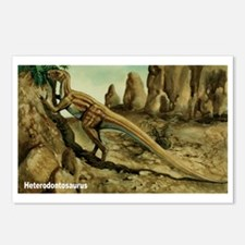 Heterodontosaurus Dinosaur Postcards (Package of 8