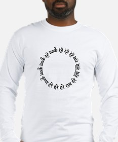 Circular Mantra Long Sleeve T-Shirt