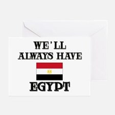 We Will Always Have Egypt Greeting Cards (Package