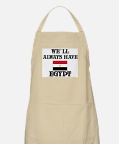 We Will Always Have Egypt BBQ Apron