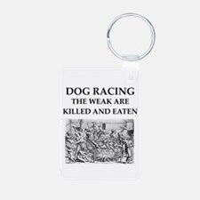 dog racing Keychains