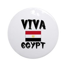 Viva Egypt Ornament (Round)
