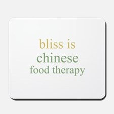 bliss is CHINESE FOOD THERAPY Mousepad