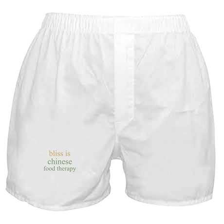bliss is CHINESE FOOD THERAPY Boxer Shorts