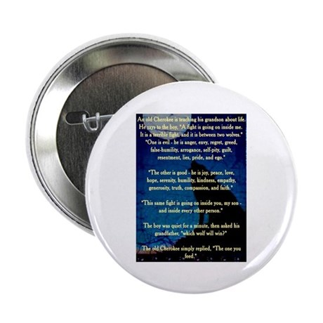 "CHEROKEE LESSON 2.25"" Button (10 pack)"