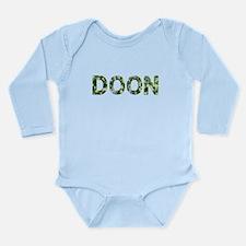 Doon, Vintage Camo, Long Sleeve Infant Bodysuit