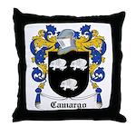 Camargo Coat of Arms Throw Pillow