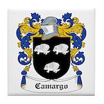 Camargo Coat of Arms Tile Coaster