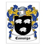 Camargo Coat of Arms Small Poster