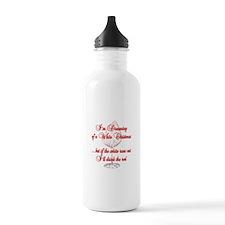 White Christmas Water Bottle