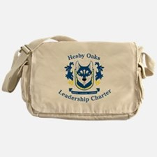 Hesby Oaks Formal Logo Messenger Bag