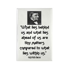 EMERSON - WHAT LIES WITHIN US. Rectangle Magnet