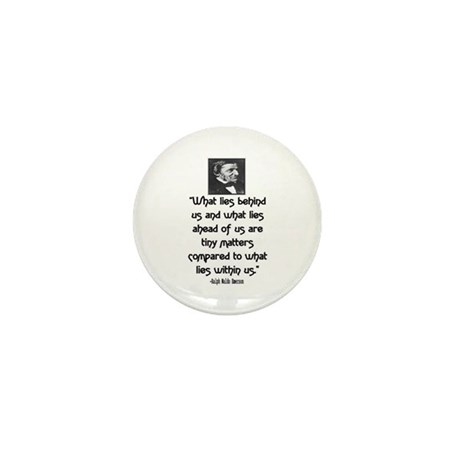 EMERSON - WHAT LIES WITHIN US. Mini Button (10 pac