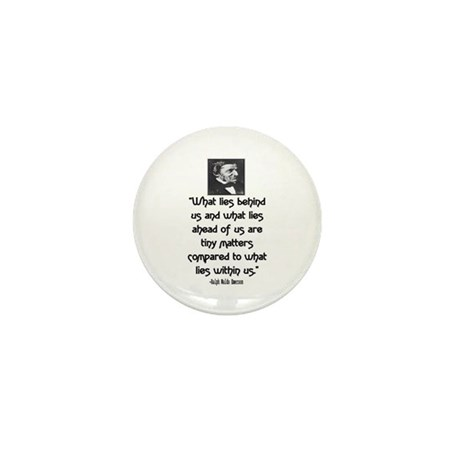 EMERSON - WHAT LIES WITHIN US. Mini Button
