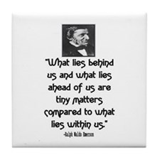 EMERSON - WHAT LIES WITHIN US. Tile Coaster
