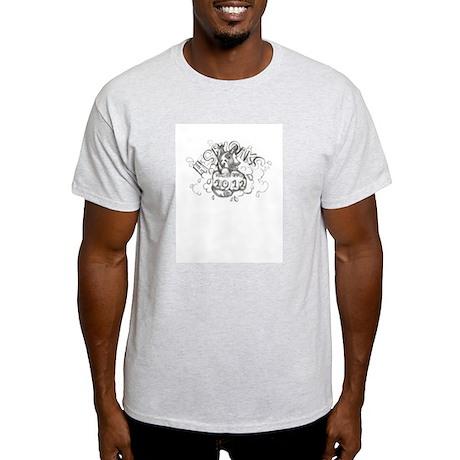 blackwhite winning logo 2012 Light T-Shirt