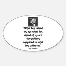 EMERSON - WHAT LIES WITHIN US. Decal