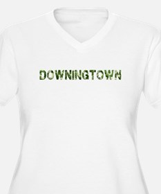 Downingtown, Vintage Camo, T-Shirt