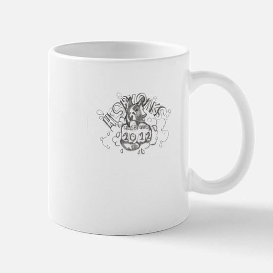 blackwhite winning logo 2012 Mug