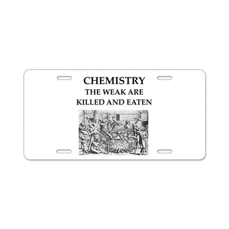 I love chemistry license plate frame by ChemSurvival |Chemist License