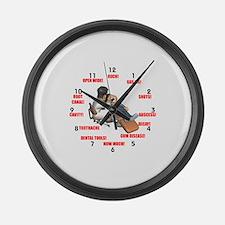 Funny Dentist Large Wall Clock