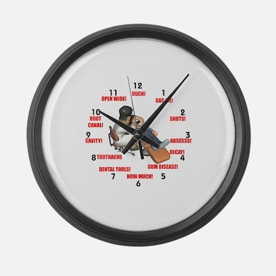 Cute Dental Large Wall Clock