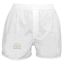 bliss is CHIROPRACTIC MEDICIN Boxer Shorts