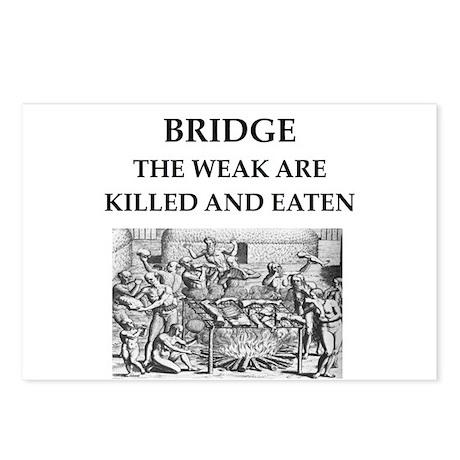 duplicate bridge Postcards (Package of 8)