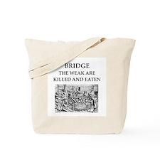 duplicate bridge Tote Bag