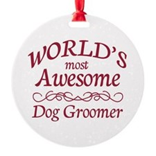 Dog Groomer Ornament