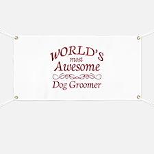 Dog Groomer Banner
